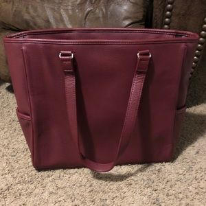 Thirty-One Cindy Tote Ltd- Deep Merlot Pebble